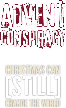 Advent Conspiracy website- making Christmas more meaningful but spending less and giving more