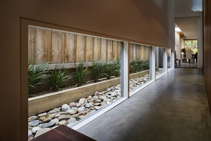 Modern Landscape Narrow Site House Interior Design | Architecture .