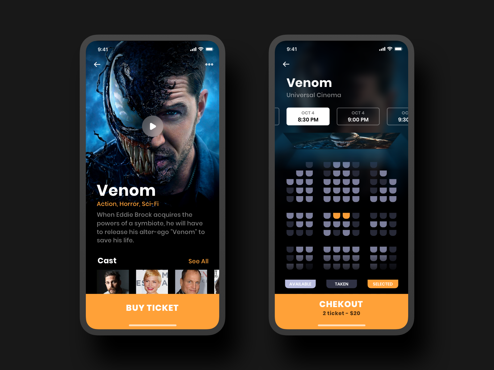 Cinema App Movie App App Cinema