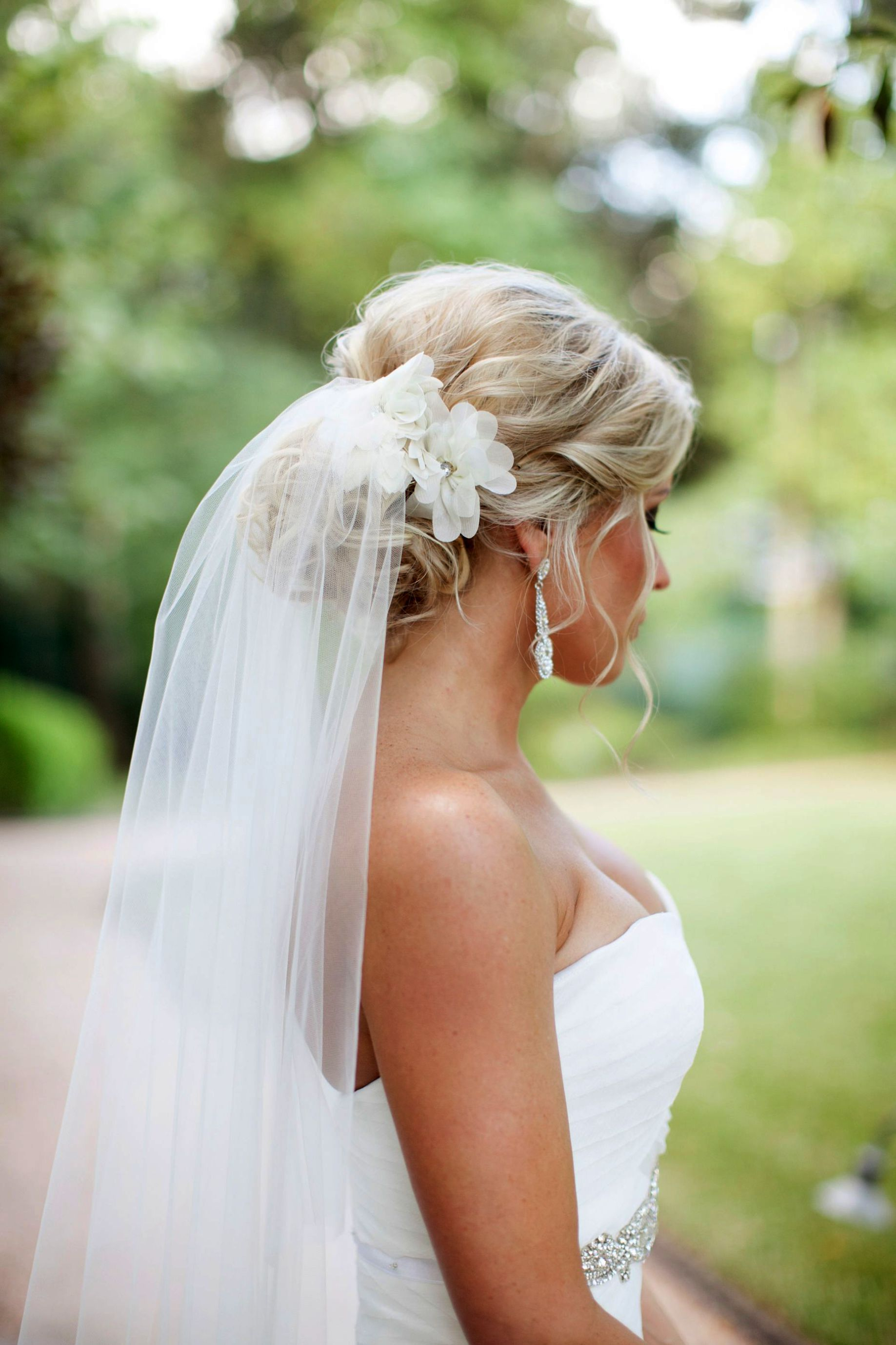 Bridal Hair Accessories For Hair Down Wedding Hair Half Up Half
