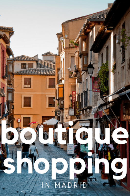 Guide to the Best Boutique Shopping in Madrid