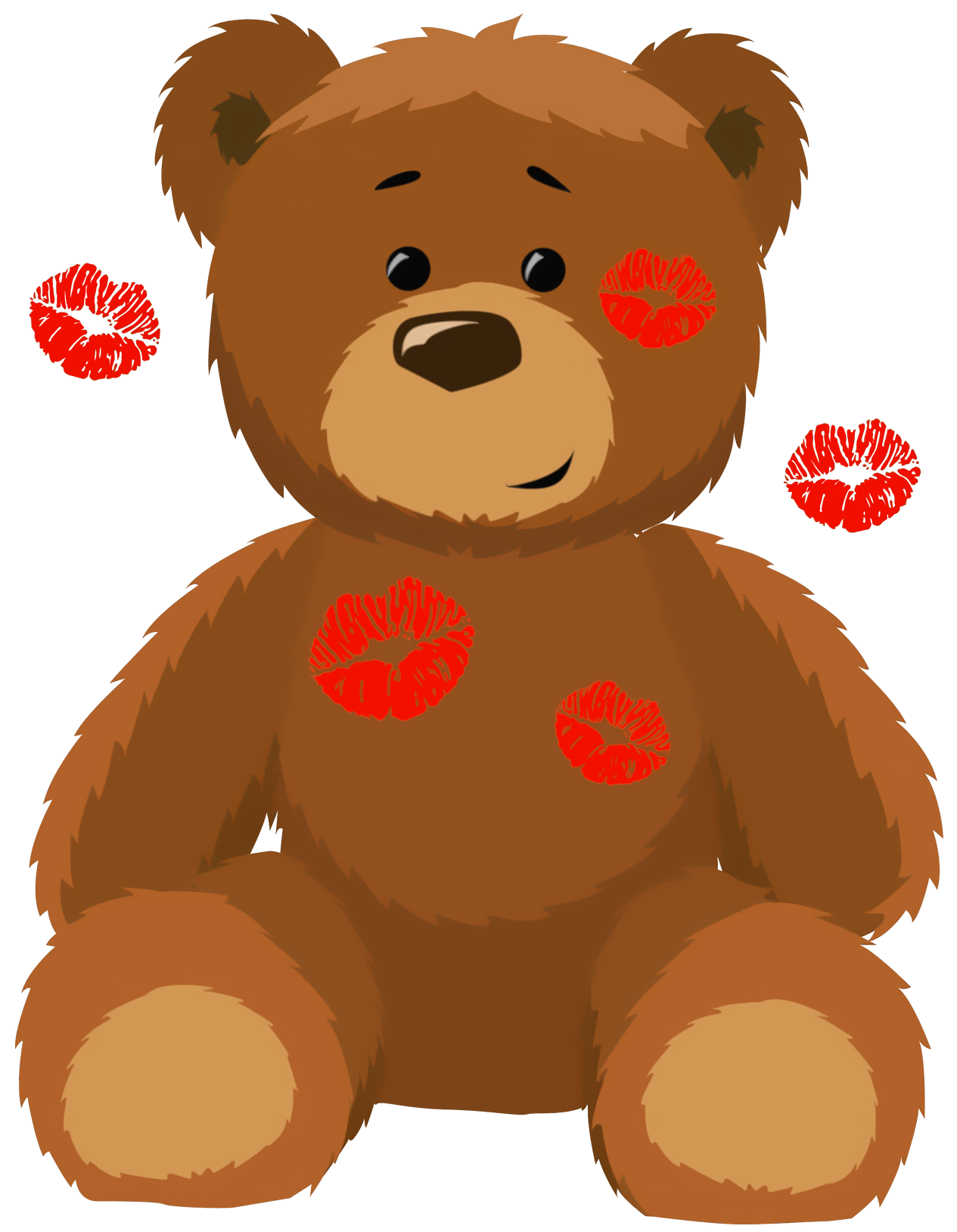 cute bear with kisses png clipart picture clip art teddy bears 1 rh pinterest co uk brown bear clipart black and white brown bear clipart black and white