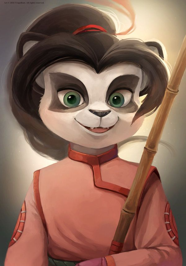 Lili Stormstout By Tragobear Deviantart Com On Deviantart Warcraft Art Panda Art Monster Design