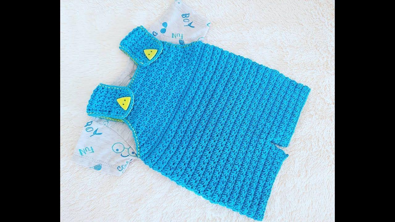 Overol Tejido A Crochet En Punto Jazmin Paso A Paso 3 A 6 Meses Punto Fantasia Youtube Adornos De Ganchillo Tejidos A Crochet Punto Jazmin