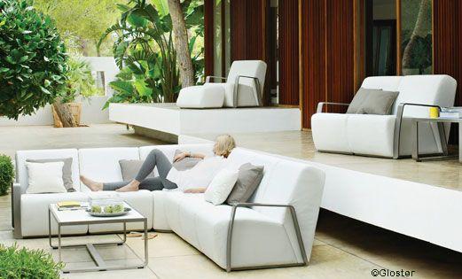 impressionnant salon de jardin en polypropylène | Décoration ...