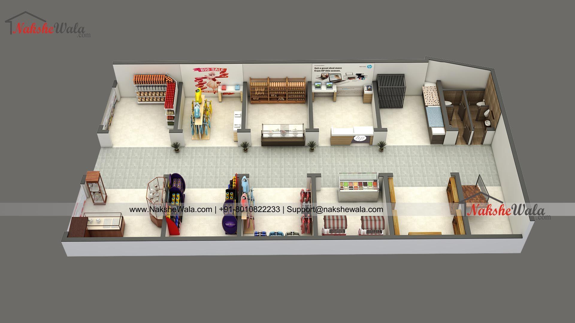Shopping Complex 3d Floor Plan Floor Plans Floor Plans Online Indian Home Design