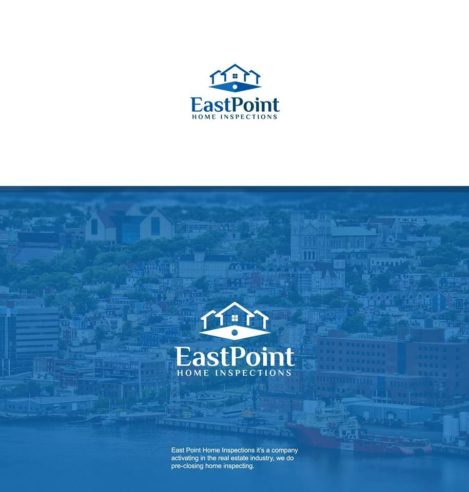 Logo design for EastPoint Home Inspections.
