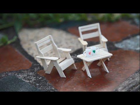 Fairy Garden Furniture, How To Make Miniature Outdoor Furniture