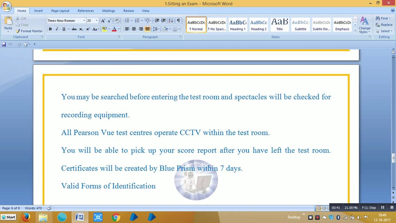 Blueprism Rpa Certification Exams Bpce2002 Aditya Rpa Academy