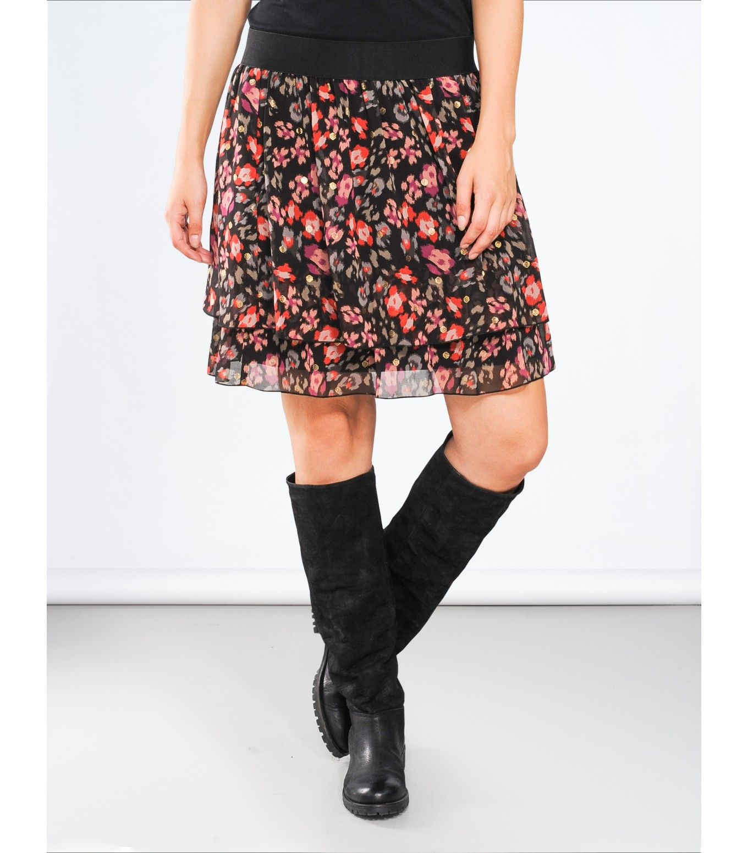 0d408b00028601 Rok met print - Jurken   Rokken - Shop - Summum Woman Online Shop ...
