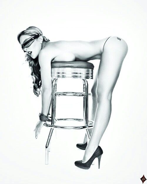 pin up girl bending over