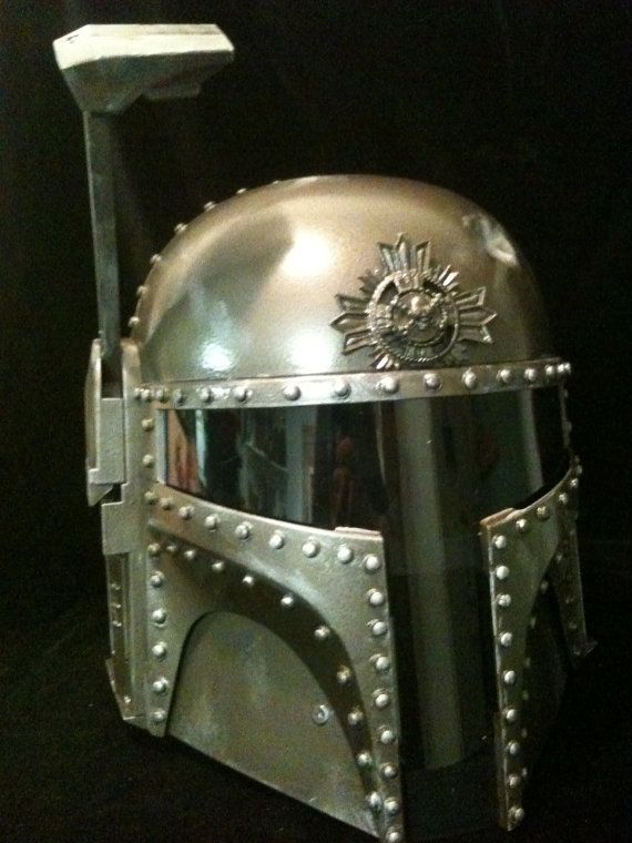 Steampunk Stormtrooper Helmet Motorcyklar