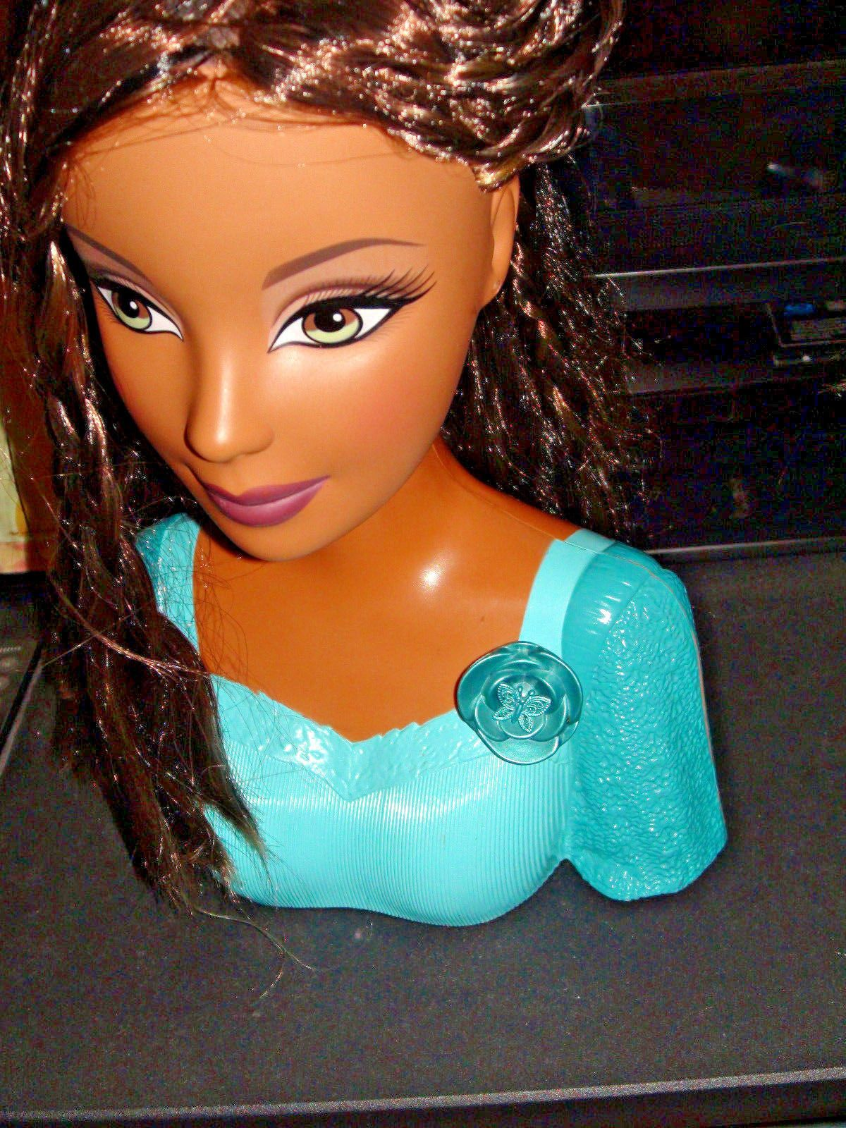 Find great deals on ebay for barbie hair extensions doll barbie light - 2006 Mattel Barbie Kayla Fashion Fever Grow N Style Head Ebay