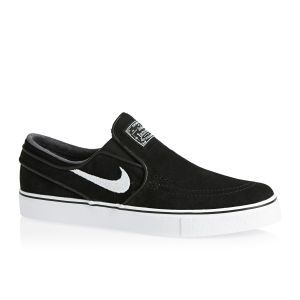 Nike Skateboarding Stefan Janoski Slip On Trainers - Black/White | Free Delivery*