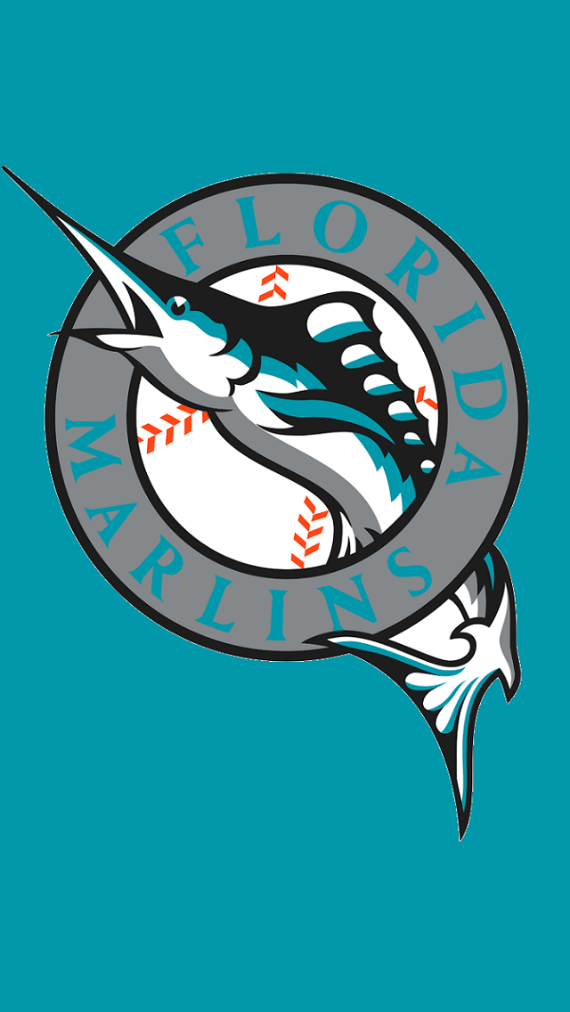 Florida Marlins 1993 Baseball Teams Mlb Team Logo Miami Iphone