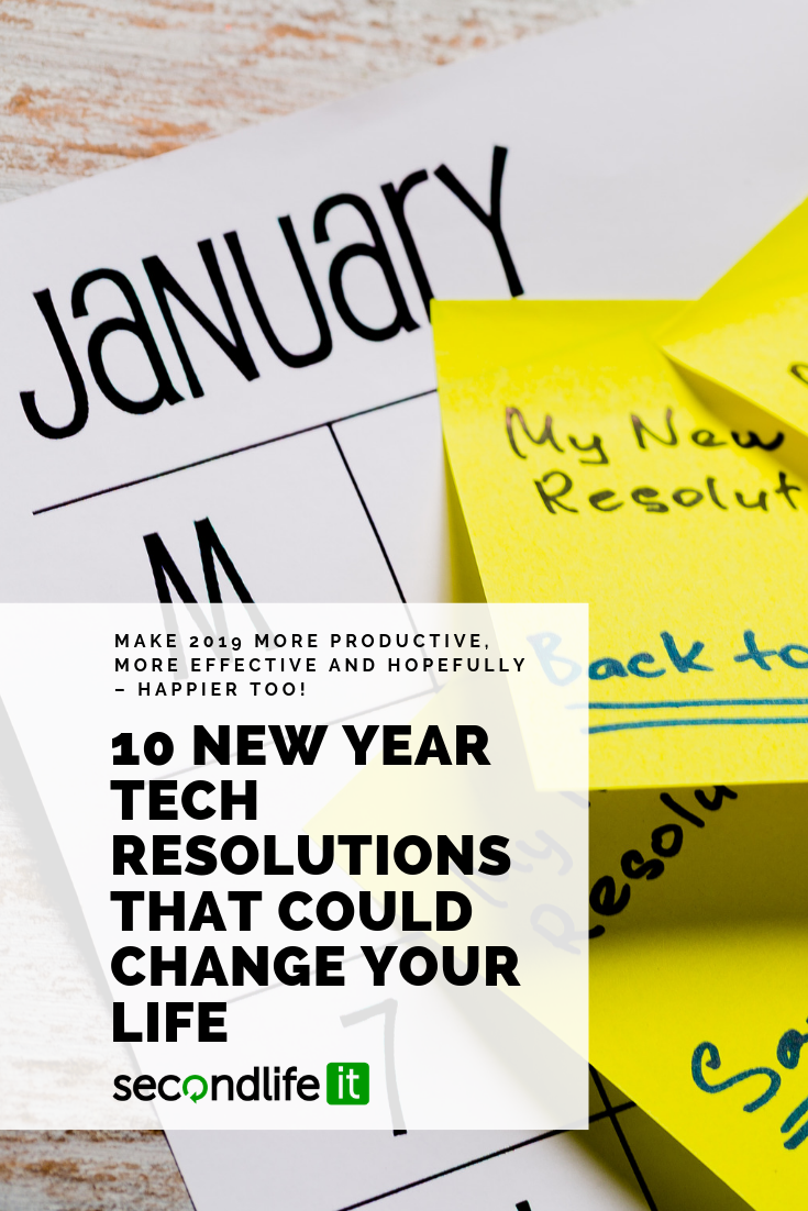 Make 2019 more productive, more effective and hopefully