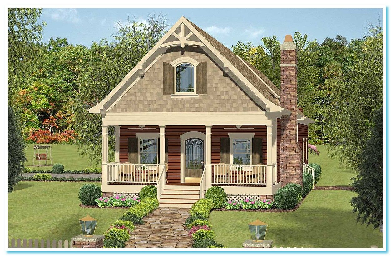 111 Reference Of Balcony Second Floor Friendly Getaway Cottage House Plans Cottage Plan Cottage Homes