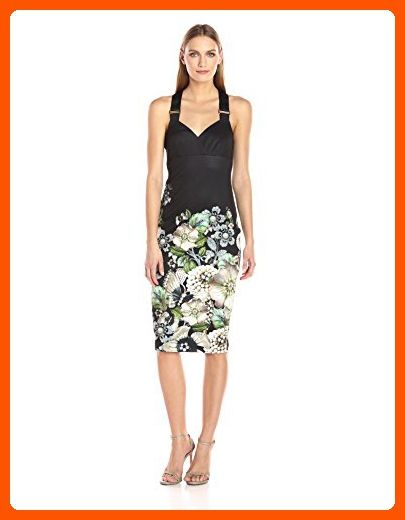 b70da6614941ee Ted Baker Women s Jayer Gem Gardens Fitted Dress