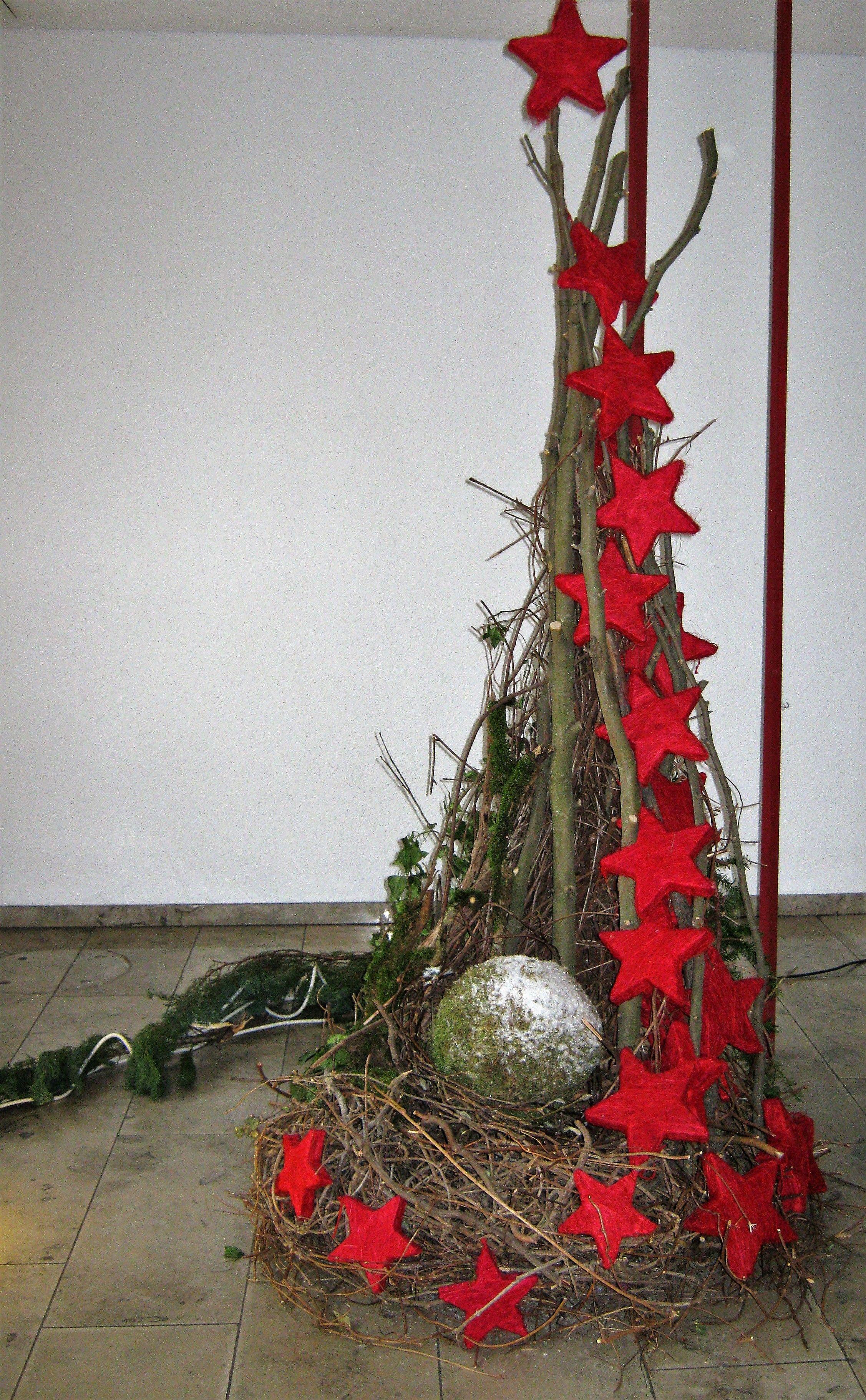 Umgestalten als Osternest #rustikaleweihnachten