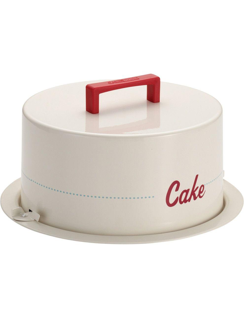 Metal Cake Carrier Cake | David Jones