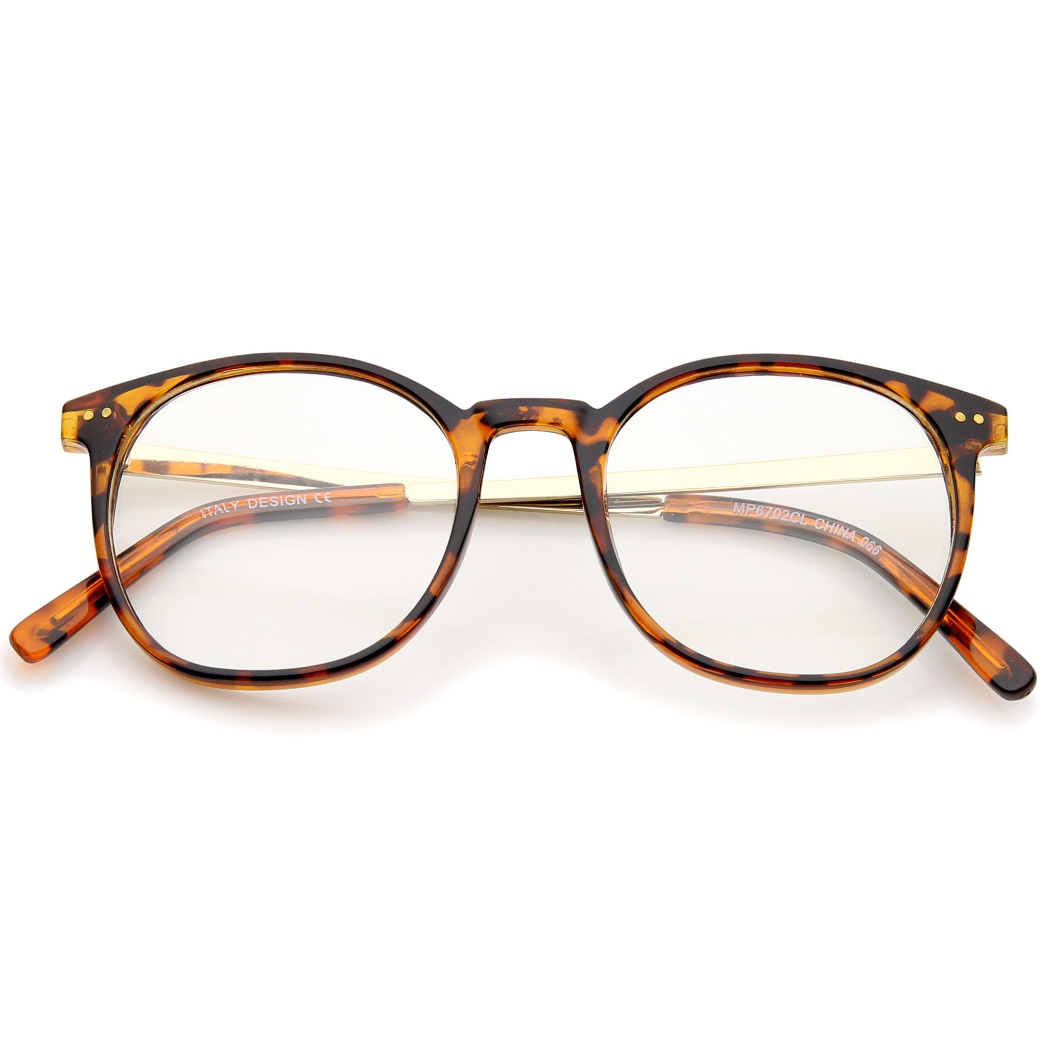 Dapper Retro Clear Lens Horned Rim Glasses A312 | Armazones de ...