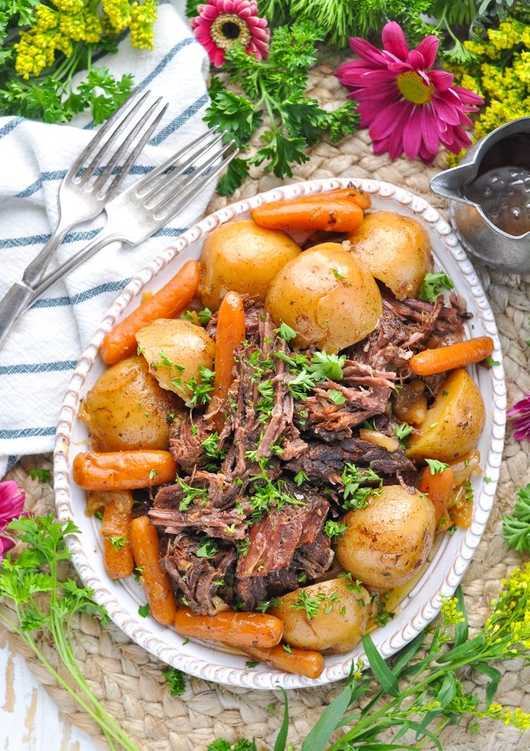 Amish chuck roast recipe for the pressure cooker slow