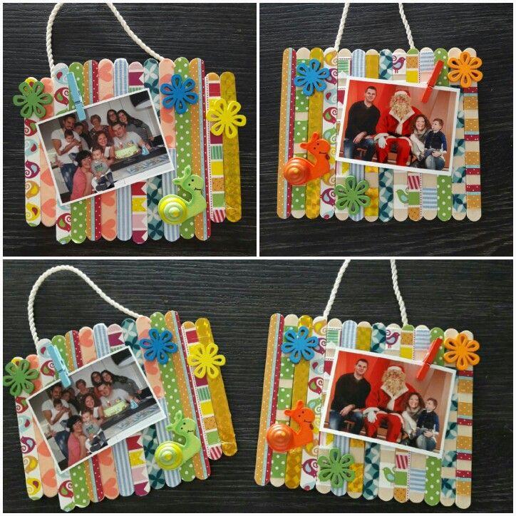 Popsicle frames (kindergarten project)