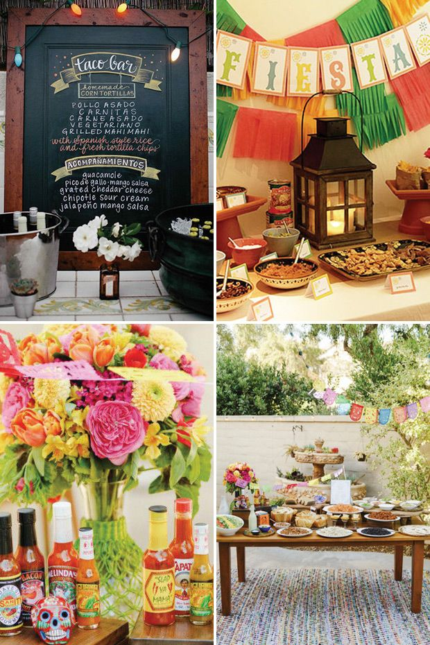 13 Wedding Food Stations Ideas