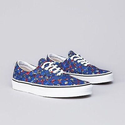 98d00b792724a7 Vans Era Liberty Blue Floral Checker London  FOLLOWITFINDIT ...