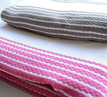 Mykonos Beach Hammam Towel Set