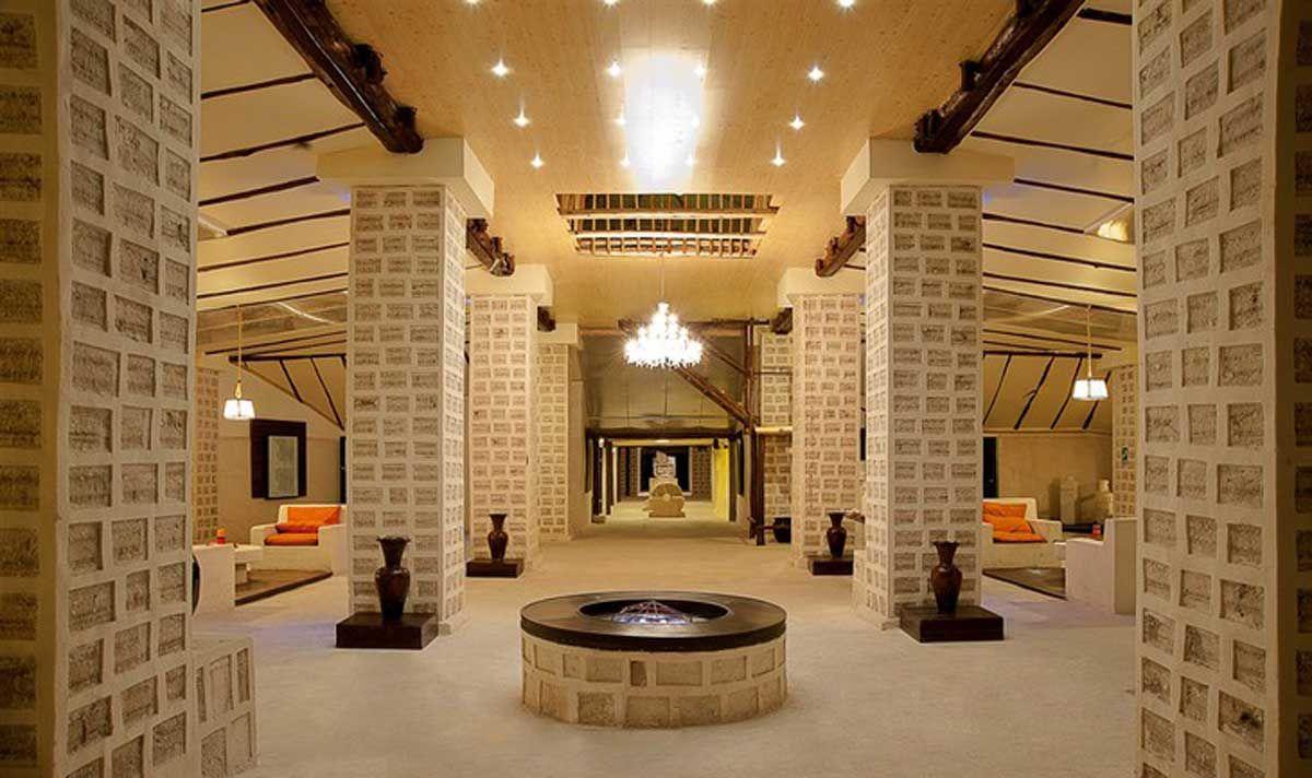 Bolivia: hotel construído totalmente en sal.