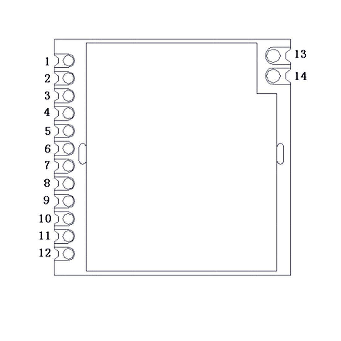 Amazon com: Luabby Smart Lora1276 915MHz sx1276 chip 100mW