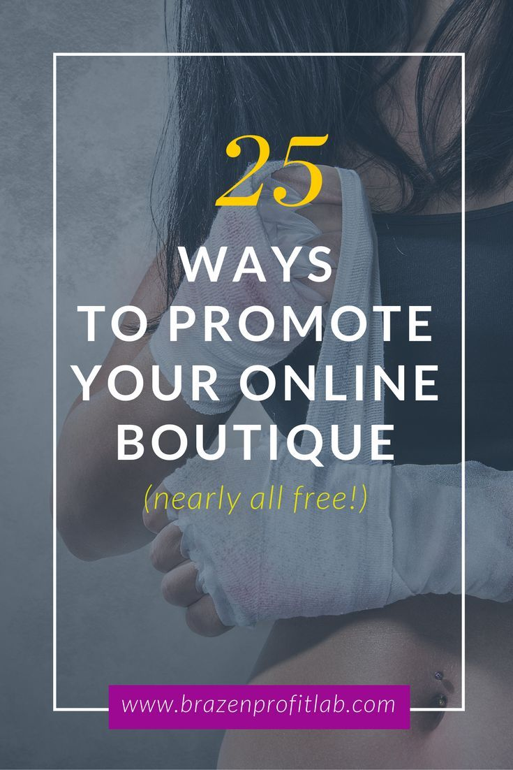 Promote online store 13
