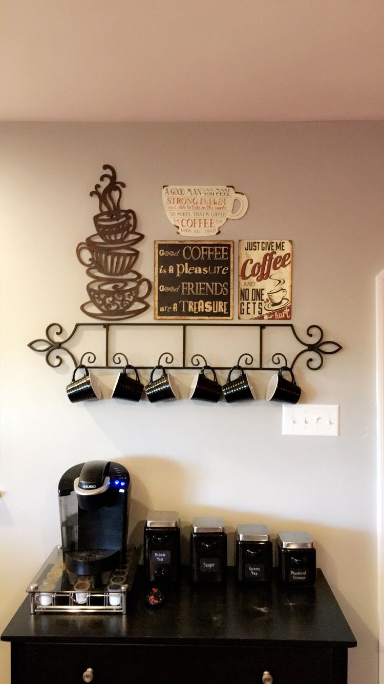 Kitchen Coffee Bar Coffee Bar Ideas For The House Pinterest Bar And Coffee