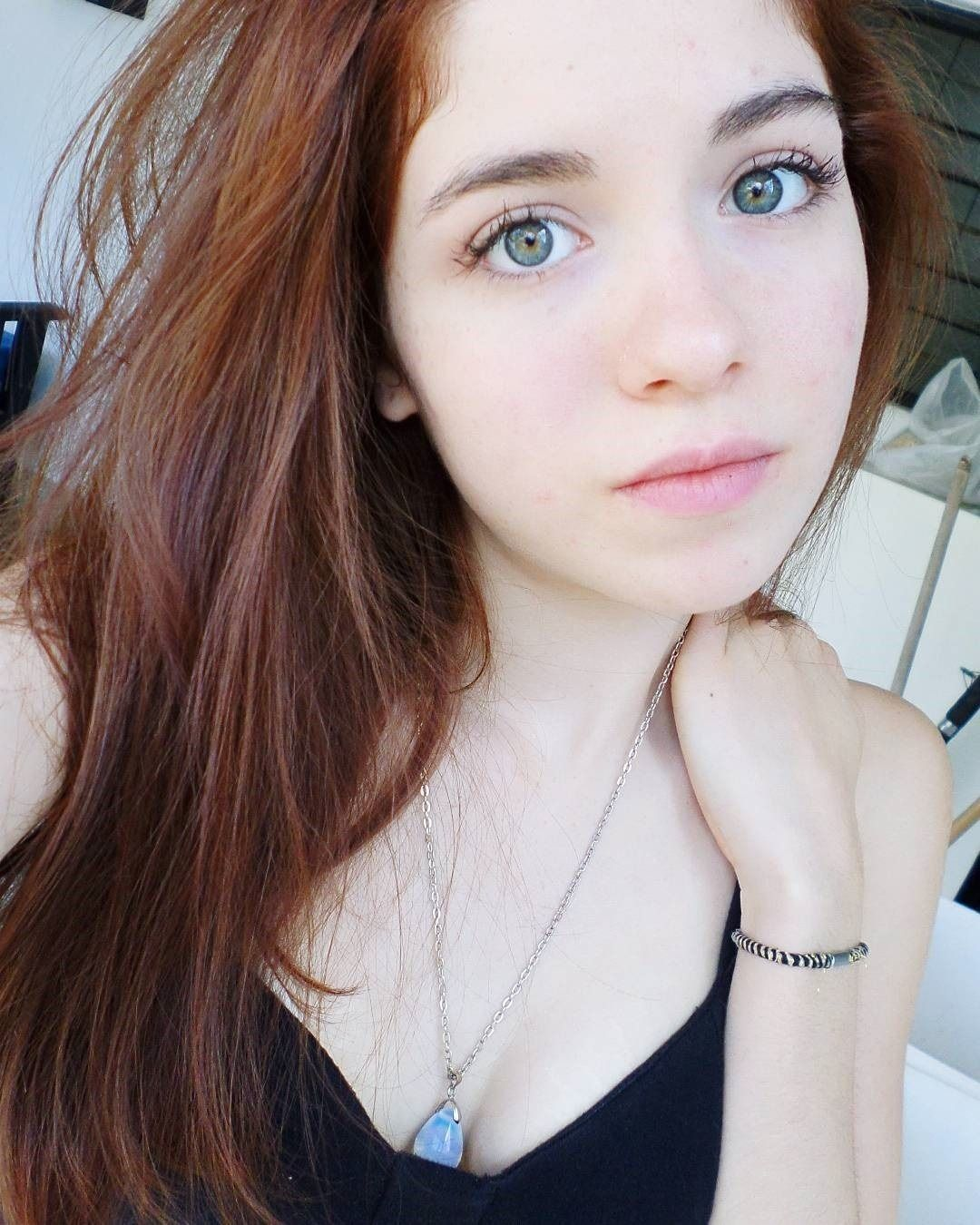 Pale Teen Redhead Young