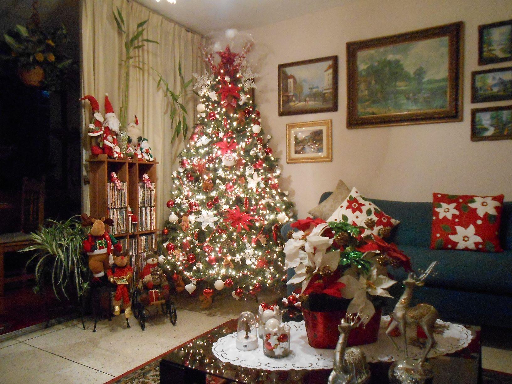 Mi arbol de navidad 2013 2014 y decoracion de mi sala - Decoracion de arbol de navidad ...