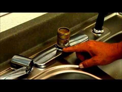 moen style kitchen faucet repair youtube diy pinterest rh pinterest com