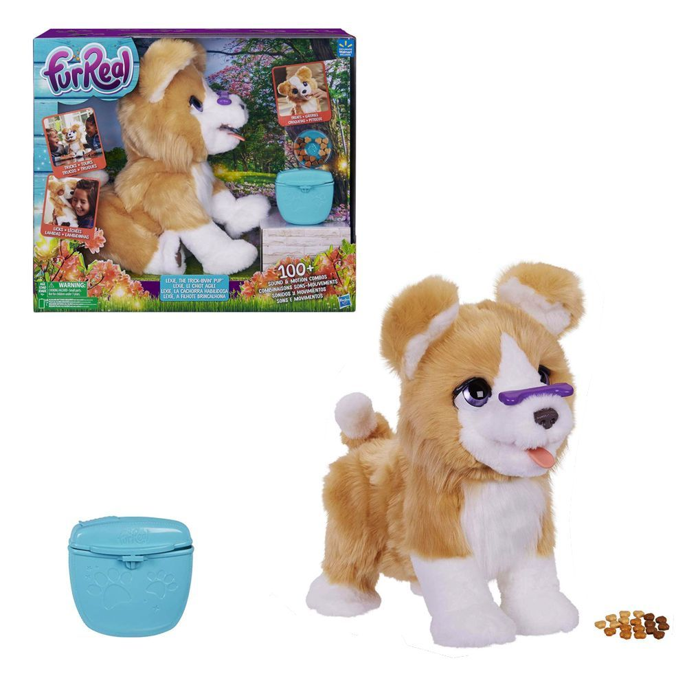 Furreal Friends Lexie Fur Real Friends Puppy Plush Toys Cute Cats And Dogs