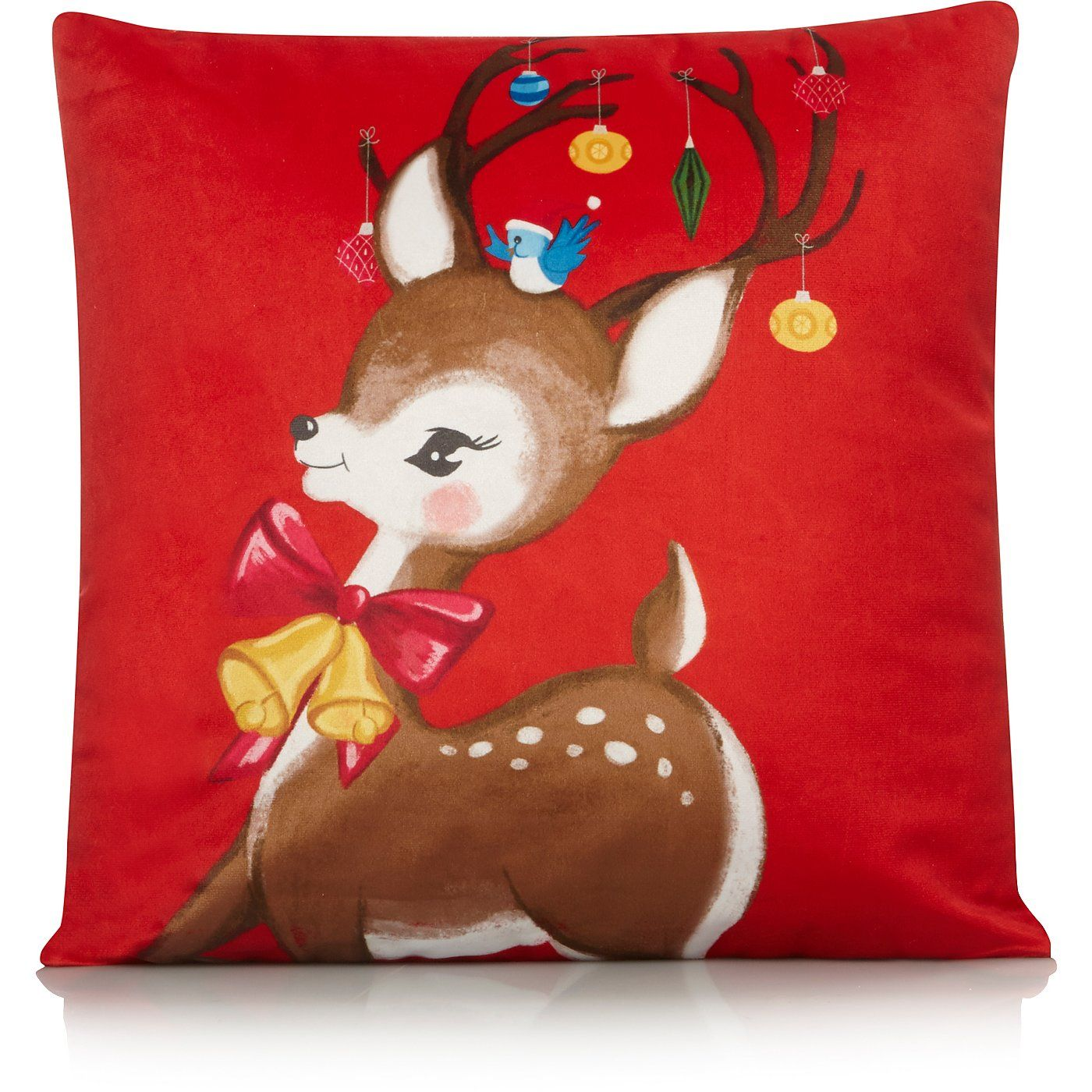 Buy Reindeer Bauble Cushion from our Cushions range today
