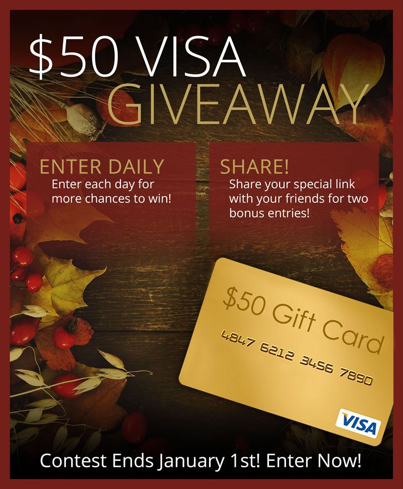 Win A 50 Visa Gift Card From American Family Homes Visa Gift