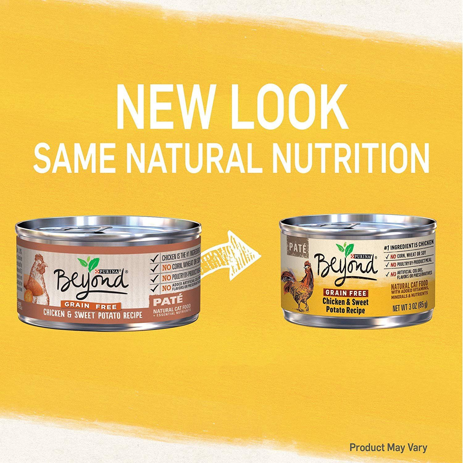 Can Best Natural 5 3 oz Canned Purina Beyond Pate Grain