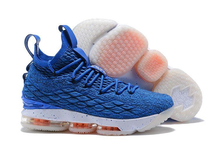 "sports shoes dc162 96672 2018 Nike LeBron 15 ""HWC"" Photo Blue/Photo Blue-Total Orange ..."