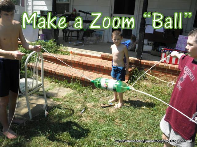 June 15, 2011 Zoom Ball is a fun summer toy you can make ...