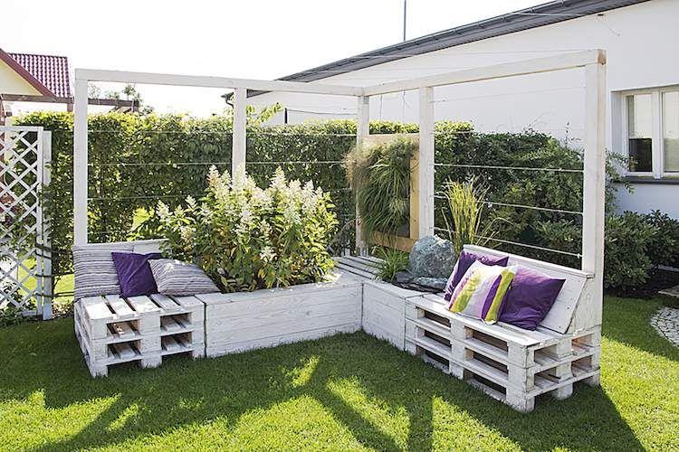 Fabriquer Salon De Jardin En Palette De Bois 35 Idees Creatives