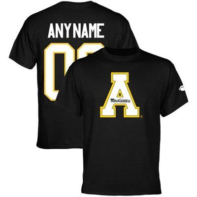 Appalachian State Mountaineers Personalized Football Name