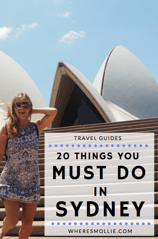 20 Things You Must Do In Sydney, Australia is part of Things You Must Do In Sydney Australia Wheres Mollie - Are you heading to Sydney and not sure what the best things to do are  Here are my top 20 things to do when you visit Sydney