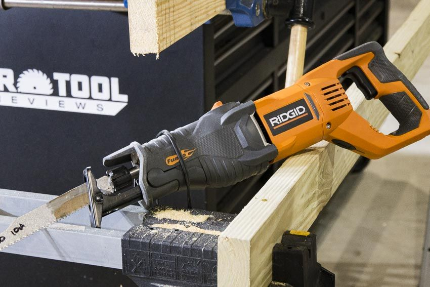 Ridgid R30022 Reciprocating Saw Hands On Review In 2020 Reciprocating Saw Tools Saw