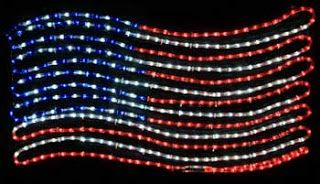 Make A Memorial Day Party With Patriotic Decorations Christmas Lights Etc Blog Christmas Rope Lights Christmas Light Installation Patriotic Decorations
