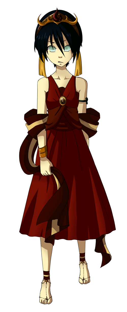 formal fire wear toph by fuufuucuddlypoops deviantart com on