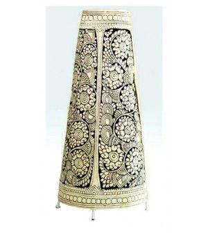 Lampshade leather puppet ethnic lamps pinterest lamp shades lampshade leather puppet mozeypictures Images